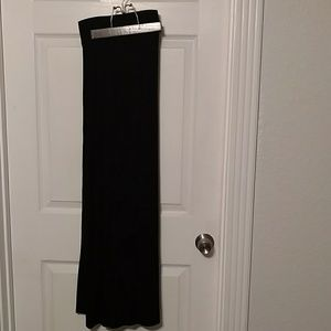 So Comfortable! Long Black Maxi Skirt